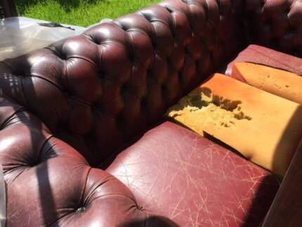 WANTED!  CHESTERFIELD SOFA SEAT COVERS Subiaco Subiaco Area Preview