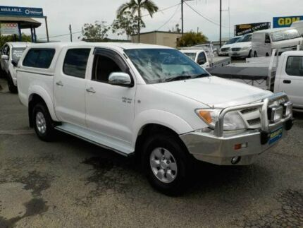 2006 Toyota Hilux GGN25R MY05 SR5 White 5 Speed Automatic Utility