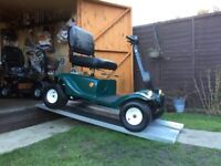 Huge 8MPH Lark Mobility Scooter Golf Buggy 30 Stone Capacity Any Terrain Only £330