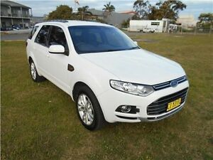 2011 Ford Territory SZ TS Seq Sport Shift Winter White 6 Speed Sports Automatic Wagon Hamilton East Newcastle Area Preview
