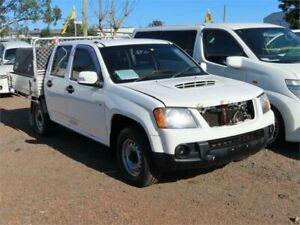 2009 Holden Colorado RC MY09 LT-R Crew Cab 4x2 White 5 Speed Manual Utility Minchinbury Blacktown Area Preview