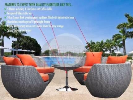 BEST SELLER Outdoor Rattan Wicker Furniture Garden Pool Day Bed Lounging