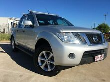 2013 Nissan Navara D40 S6 MY12 ST Silver 5 Speed Sports Automatic Utility Garbutt Townsville City Preview