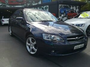 2004 Subaru Liberty MY04 2.5I Safety Blue 5 Speed Manual Sedan Greenacre Bankstown Area Preview