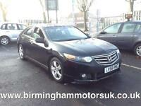 2008 (58 Reg) Honda Accord 2.2 I-DTEC ES GT 5DR Hatchback BLACK