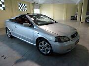 2002 Holden Astra TS MY03 Silver 4 Speed Automatic Convertible Alphington Darebin Area Preview
