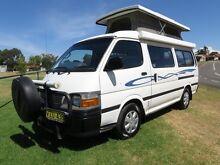 1999 Toyota Hiace Discoverer Pop Top Camper – 5 SEATBELTS Glendenning Blacktown Area Preview