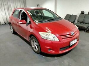 2010 Toyota Corolla ZRE152R Conquest Hatchback 5dr Man 6sp 1.8i Red Manual Hatchback Seven Hills Blacktown Area Preview