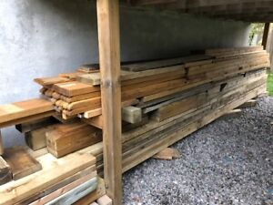 Pressure Treated Lumber-Excellent Shape (Many less than 1yr old)