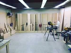 WOODWORKING SHOP FOR SALE (200k gross sale/year) Fully equipped