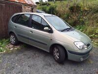 02 Renault Megane scenic 1.6 £350ono