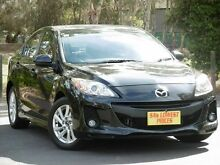 2013 Mazda 3 BL10F2 MY13 Maxx Activematic Sport Black 5 Speed Sports Automatic Sedan Melrose Park Mitcham Area Preview