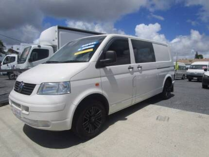 """VOLKSWAGEN TRANSPORTER VAN LWB """"FREE WARRANTY AND 1ST SERVICE"""" Currumbin Waters Gold Coast South Preview"""