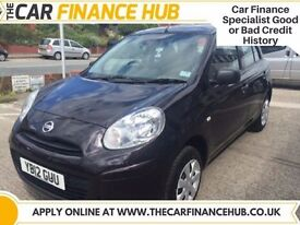 BAD CREDIT, PAY AS YOU GO FINANCE.... NISSAN MICRA 1.2 ........representative APR 14.5%