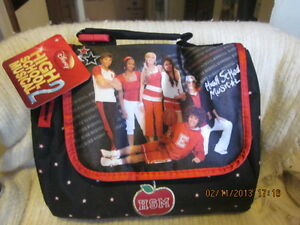 HSM Glitter Puzzle and Lunch Bag BRAND NEW