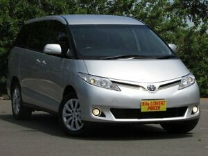 2012 Toyota Tarago ACR50R MY09 GLi Silver 4 Speed Sports Automatic Wagon Blair Athol Port Adelaide Area Preview