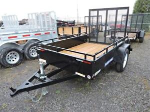 Remorques HS 5X8 5X10 6X10 6X12 7X12 7X16 Trailers High Side