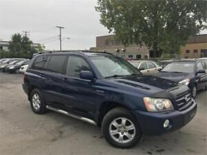 TOYOTA HIGHLANDER LIMITED V6 2003 AUTO/CUIR/MAGS/TOIT OUVRANT
