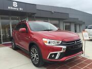 2017 Mitsubishi ASX XC MY18 LS 2WD Red 6 Speed Constant Variable Wagon Fyshwick South Canberra Preview