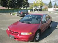1998 Dodge Stratus 4 cylinder automatic! Winter tires!