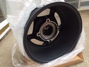 Brand new Steel Rim Wheel, Black  Brand new-$40