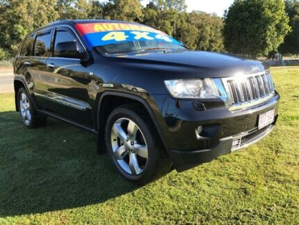2011 Jeep Grand Cherokee WK Limited (4x4) Black 5 Speed Automatic Wagon