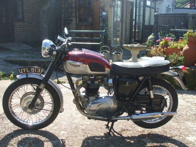 trophy tr6 1968
