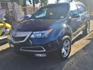 2012 ACURA MDX 7 PASSENGER LEATHER LOADED