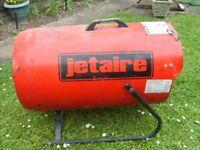 JETAIRE LG150 GAS HEATER IDEAL GARAGE OR WORSHOP GOOD WORKING ORDER