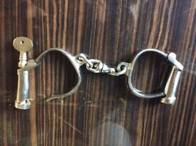 Vintage Police Handcuffs