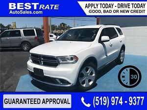 DURANGO AWD - APPROVED IN 30 MINUTES! - ANY CREDIT LOANS
