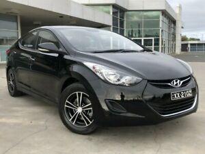 2013 Hyundai Elantra MD2 Active Black 6 Speed Sports Automatic Sedan