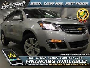 2014 Chevrolet Traverse 1LT AWD | Low KM | PST PAID!