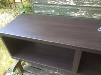 IKEA Besta black/brown TV bench/media unit/TV home cinema AV etc..