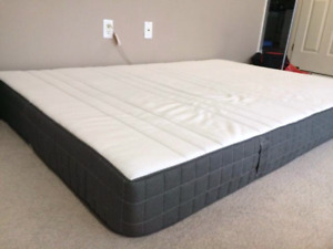 Ikea Morgedal Queen Size Mattress - 8 Months Old.