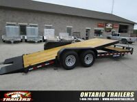 Ontario Trailers   22 ft Tilt bed equipment (14000 lb GVWR)