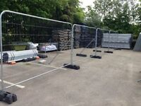 Temporary Fencing, security fencing Panels £20