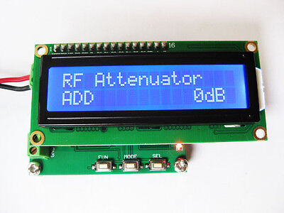 Digital Lcd Rf Power Meter 0-500mhz -80 10 Dbm Radio Frequency Power Tester New