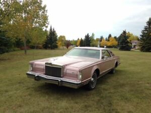 **Fantastic Lincoln Continental Mark V, Cartier Details, 1977**