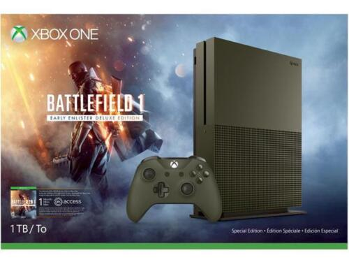 $349.99 - Xbox One S 1 TB Console - Battlefield 1 Special Edition Bundle