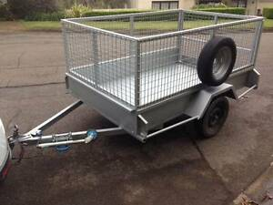 8 X 5 - Heavy Duty Caged Box Trailer for Rent / Hire - NorthShore East Lindfield Ku-ring-gai Area Preview