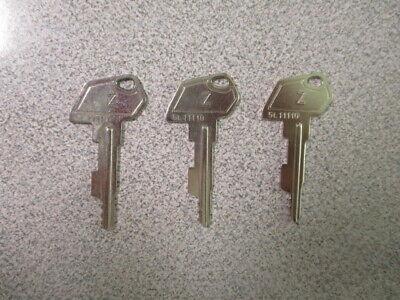 Lot Of 3 Samsung Cash Register Z Key