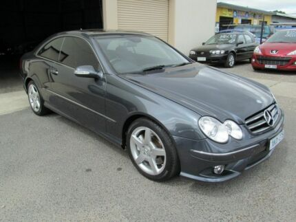 2008 Mercedes-Benz CLK280 C209 07 Upgrade Avantgarde Grey 7 Speed Automatic G-Tronic Coupe Werribee Wyndham Area Preview