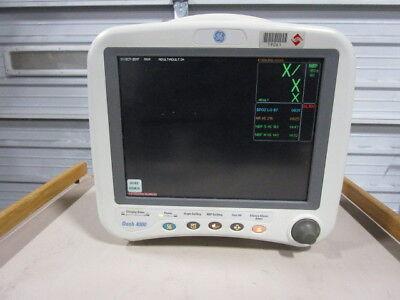 Ge Datex Ohmeda Dash 4000 Patient Monitor - Spo2 Ecg Bp Temp