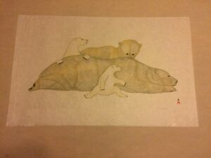 Inuit Print - Private Collection