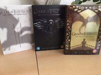 Game of Thrones Seasons 3, 4, 5