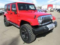 2015 Jeep Wrangler Unlimited-Lifted-All Year FUN! Only $399b/w