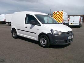 Volkswagen Caddy 1.6 TDCI 75PS VAN DIESEL MANUAL WHITE (2013)
