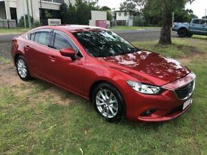 2012 Mazda 6 GJ1031 Sport SKYACTIV-Drive Red 6 Speed Sports Automatic Sedan