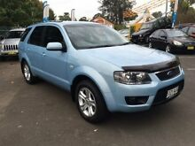 2010 Ford Territory SY Mkii TX (RWD) Blue 4 Speed Auto Seq Sportshift Wagon Campbelltown Campbelltown Area Preview